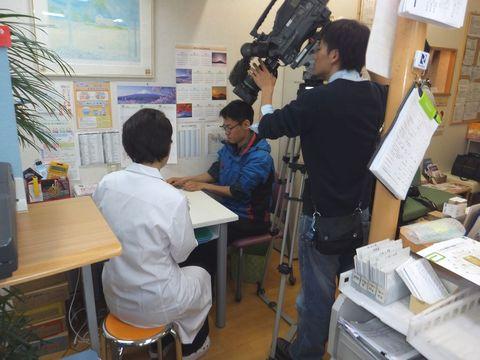 e-お薬手帳 NHK取材1