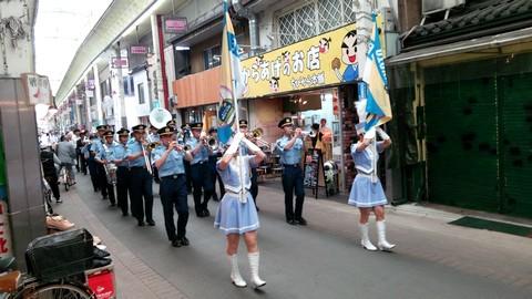 三条会商店街薬物防止パレード