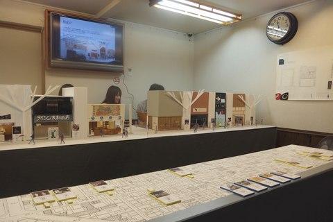 三条会商店街 学生さんの店舗デザイン展示