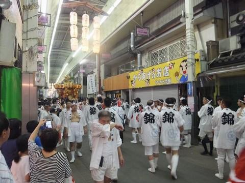 三条会商店街 祇園祭後祭 神輿
