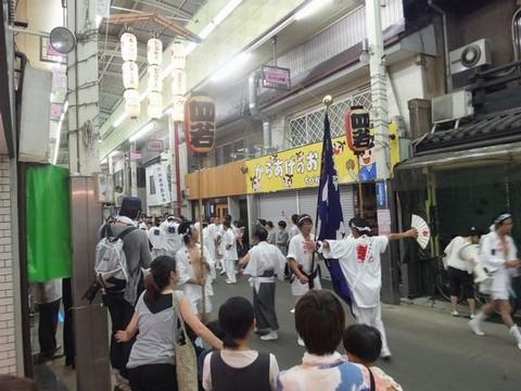 三条会商店街 祇園祭後祭 御供神社神輿
