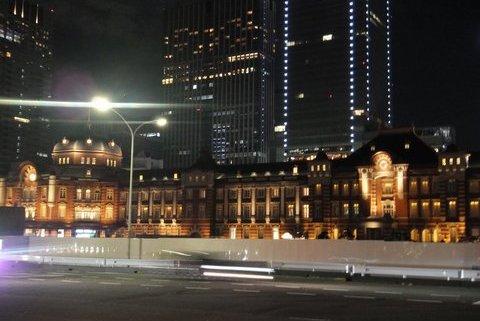 東京駅百周年 ライトアップ