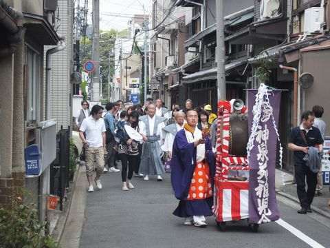 神泉苑祭り