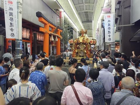 祇園祭後祭 お神輿