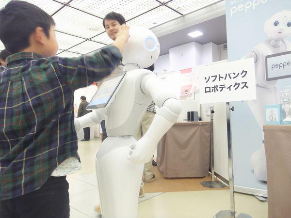 チカタ薬局 医療機器展示会 ロボット