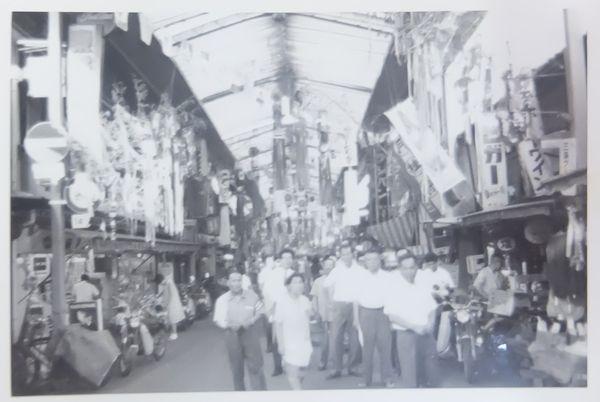 昭和40年代後半頃 夏の三条会商店街