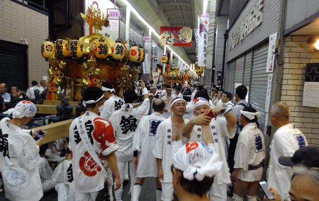 2019祇園祭 神輿巡行